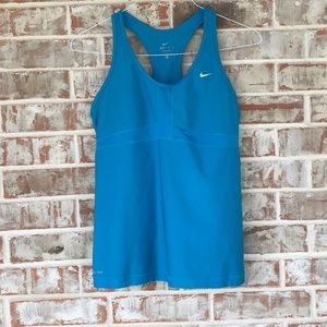XL Nike Sky Blue Athletic Racerback Tank Top